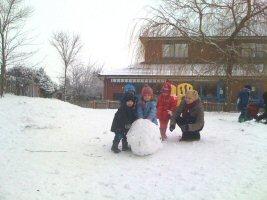Snow is great! Hadley Park Nursery